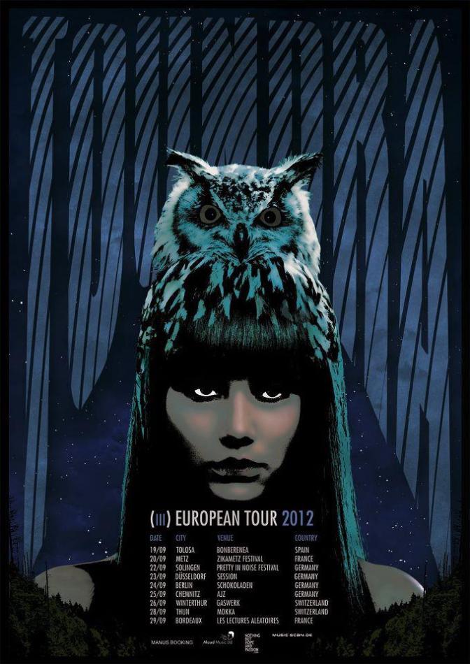 Toundra European Tour 2012