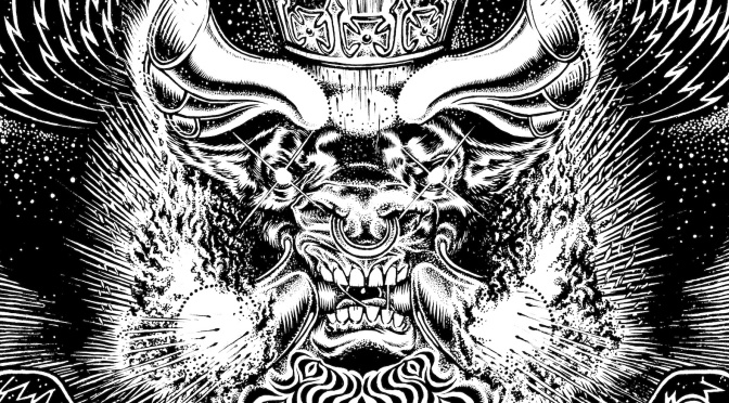 Chris Hitchman Illustration – Monster Magnet Poster: Spine of God / Twentieth Anniversary Tour