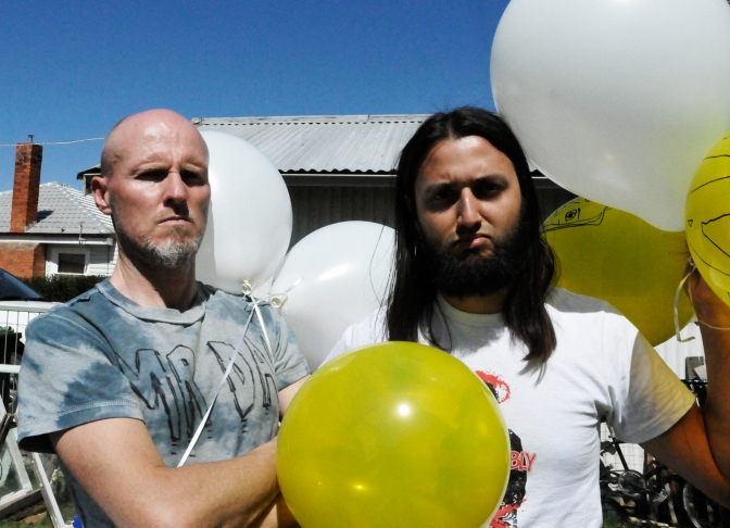 Australian noise rock/power duo DEAD return with new album