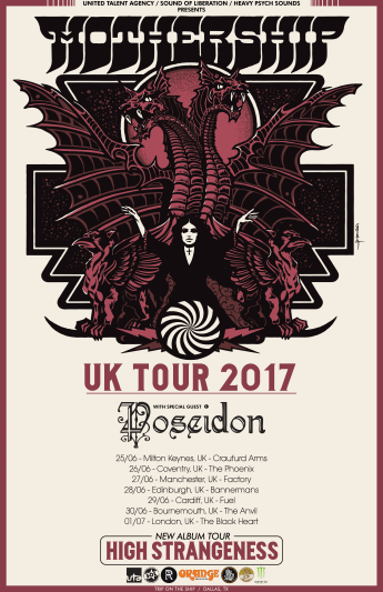 UK Tour Dates with Poseidon
