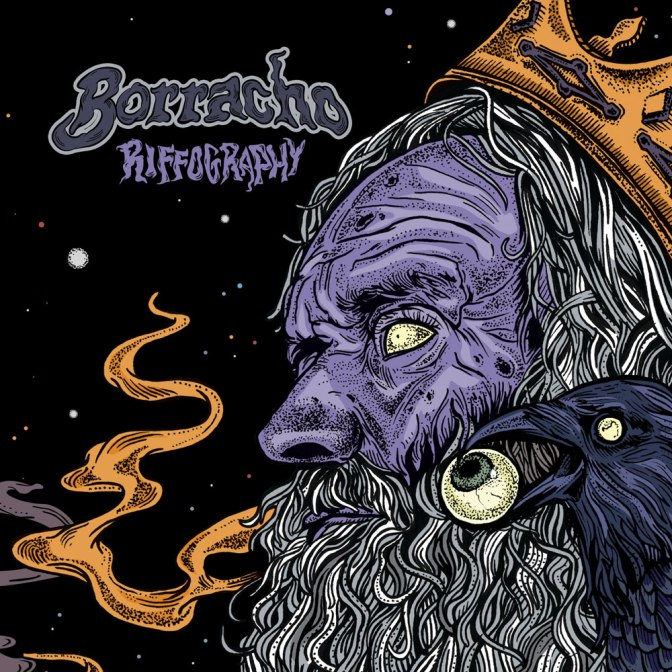 DC Heavyweights BORRACHO to Release Compendium of Riffs on Ripple Music Next Month
