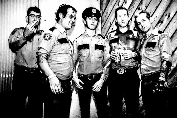 Houston punk rock band THE COPS to release debut album on Artificial Head Records