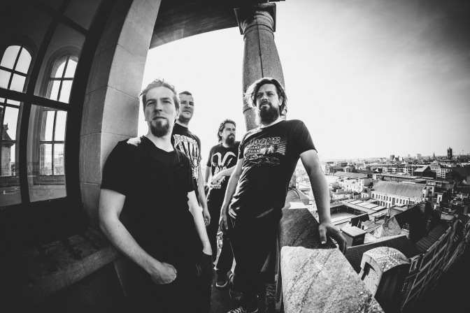 FIRE DOWN BELOW: Belgian fuzz rock quartet to release Hymn of the Cosmic Man | New video for 'Saviour Of Man' premiered on Doomed & Stoned