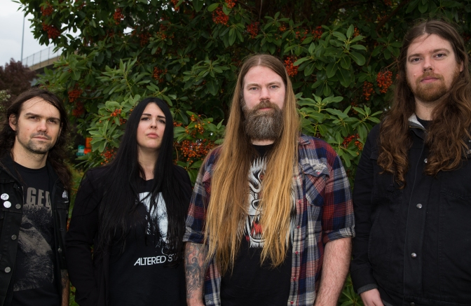HOLY GROVE: Rising Mike Scheidt-Approved Doom Quartet to Release New Album Next Month