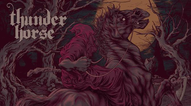 THUNDER HORSE: Texan sludge challengers to officially release debut album on vinyl this November | Share riotous new video for'Demons Speak'