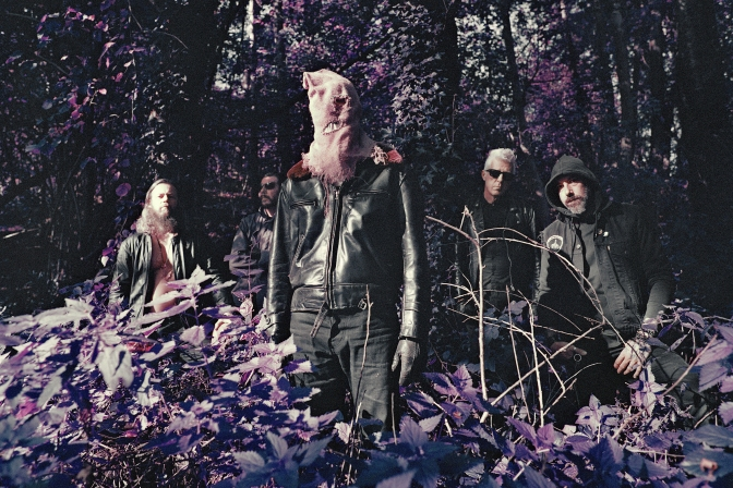LA MUERTE: Cult Belgian legends return with first album in over two decades | Decibel première the sulphurous black psych of 'LSD for the Holy Man'