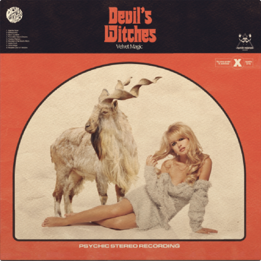 Occult Rockers DEVIL'S WITCHES to Reissue Elusive Debut with MAJESTIC MOUNTAIN RECORDS