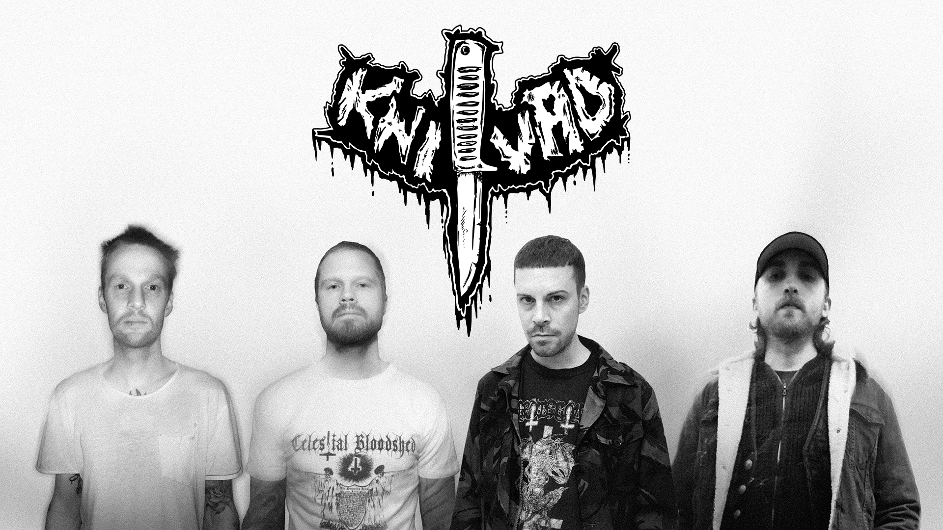Gothenburg's KNIVAD Chronicle Pain, Punk and the Puerility of Man on Debut Album with SUICIDE RECORDS